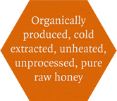 cold processed honey